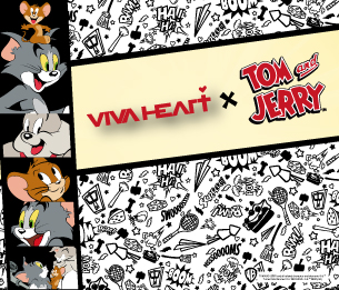 VIVA HEART×TOM and JERRY